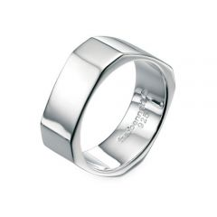 Silver gents ring by Fred Bennett