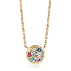 Novara silver gold plated necklace by Sif Jakobs