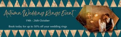 The Autumn Wedding Rings Event is Back!