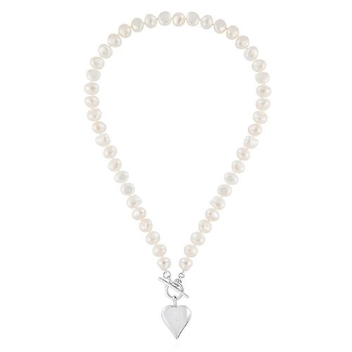 Pearl Necklace by Claudia Bradby
