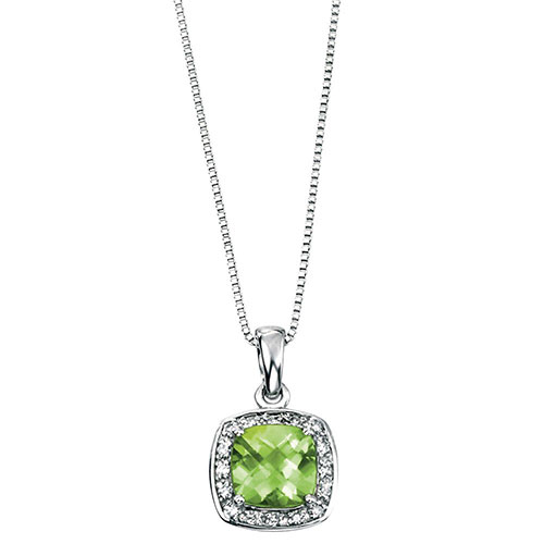 9ct-white-gold-diamond-and-peridot-necklace