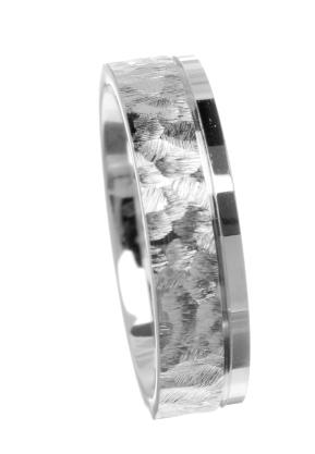 6mm medium 14ct white gold wedding ring