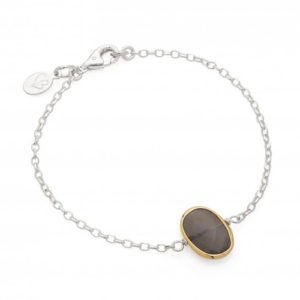 Entracing moonstone and silver bracelet especially for Mothers day