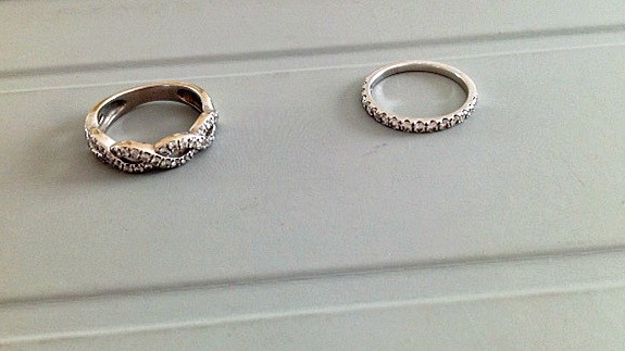 infinity and eternity rings