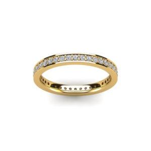 18ct Yellow Gold & Diamond Eternity Ring